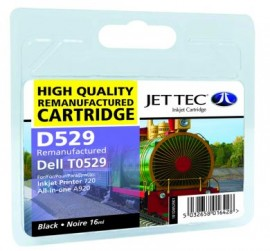 Remanufactured Black Ink Cartridge Dell T0529 (D529)