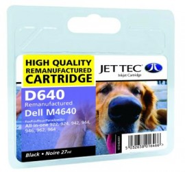 Remanufactured Black Ink Cartridge Dell M4640 (D640)