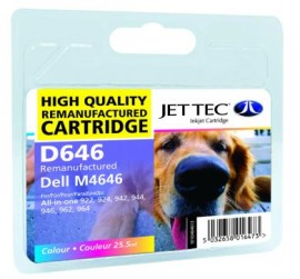 Remanufactured Colour Ink Cartridge Dell M4646 (D646)