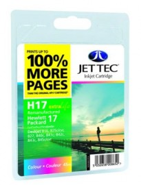 Remanufactured HP 17 Colour Ink Cartridge