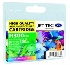 Remanufactured HP 300CXL Colour Ink Cartridge