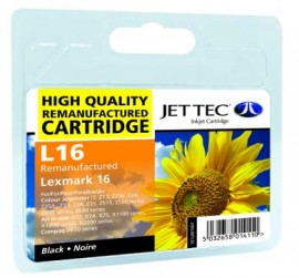 Remanufactured Lexmark 16 Black Ink Cartridge