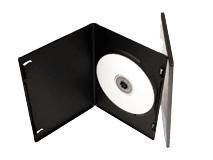 Slim DVD Cases Single 7mm Pack Of 50