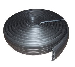 3M Rubber Cable Trunking W76mm x H16mm Channel 19mm x 9.5mm