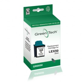 Remanufactured Lexmark 17G0050 Black Ink Cartridge