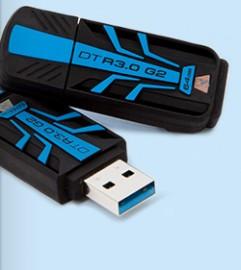 Kingston DataTraveler R3.0 G2 (16GB) USB 3.0 Flash Drive