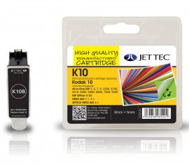 Kodak 10 Black - Jet Tec Remanufactured Inkjet Cartridge K10B