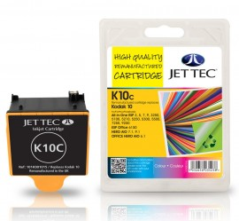 Kodak 10 CMY Colour - Jet Tec Remanufactured Inkjet Cartridge K10C