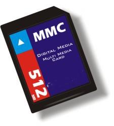 1GB MMC Multimedia Memory Card