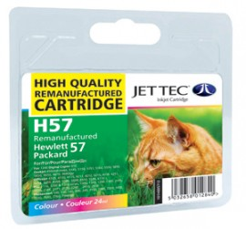 Remanufactured HP 57 Colour Ink Cartridge