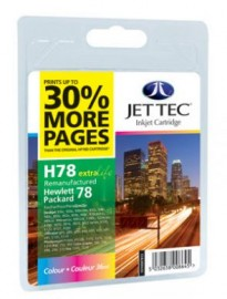 Remanufactured HP 78 Colour Ink Cartridges