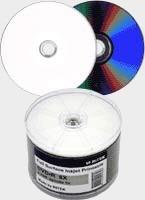 Ritek 8x Full-Face Printable DVD-R 50 Pk