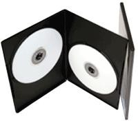 Slim DVD Cases Double 7mm Pack Of 50