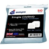 Amps Paper CD/DVD Sleeves