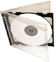 Double CD Cases Pack Of 50